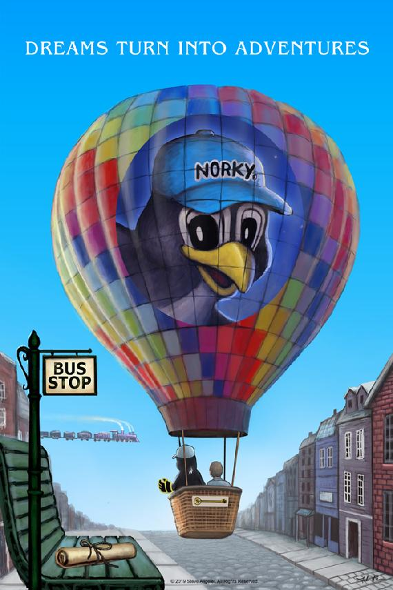 NORKY DREAM ADVENTURE BALLOON