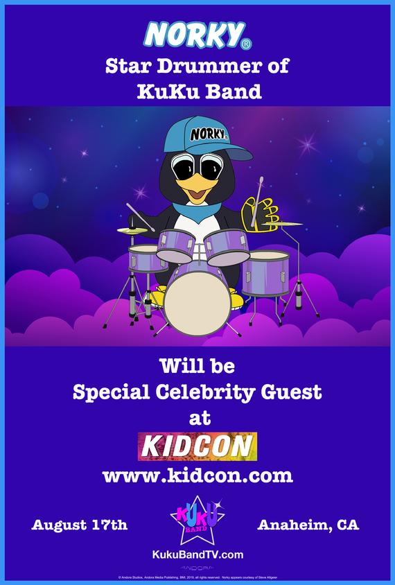 NORKY KIDCON ANAHEIM CELEBRITY STAR GUEST